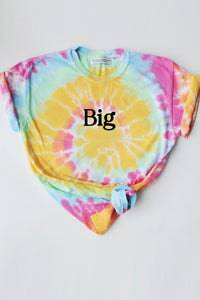 Tie-Dye Family tee - Spikes and Seams Greek