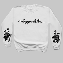 White Rose Sweatshirt - available for all sororities!