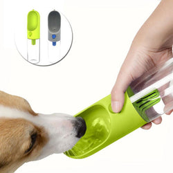 Dogs Dog Filter Water Bottle