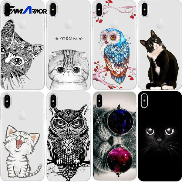Fitted Case Amazing Cat iPhone Silicon Case