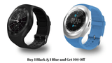 Futuristic SmartWatch Buy 1 Black & 1 Blue and Get 10$ Off All in One Futuristic SmartWatch