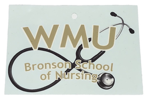 Bronson School of Nursing Car Decal