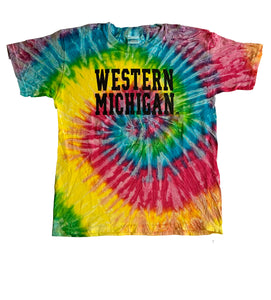 Youth: Western Michigan Tie-Dye T-Shirt