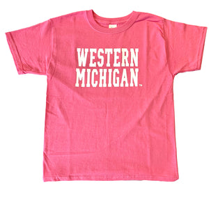 Youth: Classic Western Michigan T-Shirt