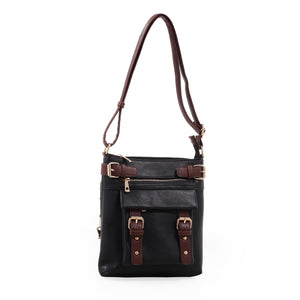 C8535L  Concealed Carry Lock and Key Crossbody