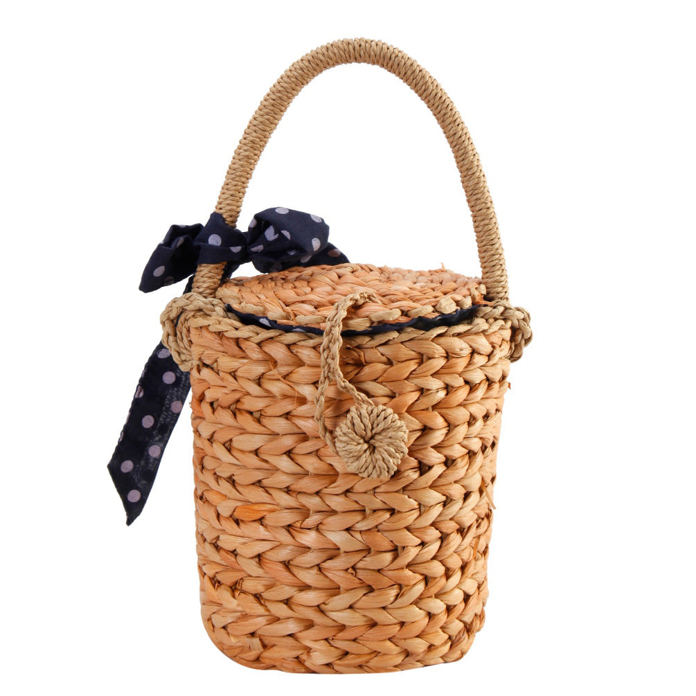 Natural Straw Handbag