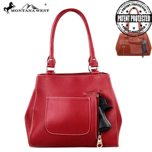 US04G-8036 Montana West American Pride Concealed Handgun Collection Handbag