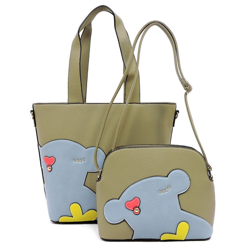 Fashion Bear 2-in-1 Shopper