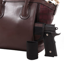 "C514297LS - ""Madison"" Concealed Carry Lock and Key Satchel with Matching Wallet"