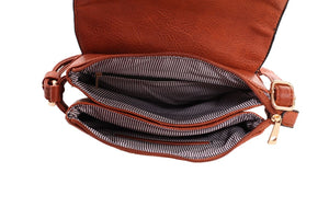 Cheyanne Concealed Carry Crossbody with Lock and Key