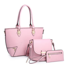 3 In 1 Fashion Handbag Cross-Body Bag & Wallet Value Set