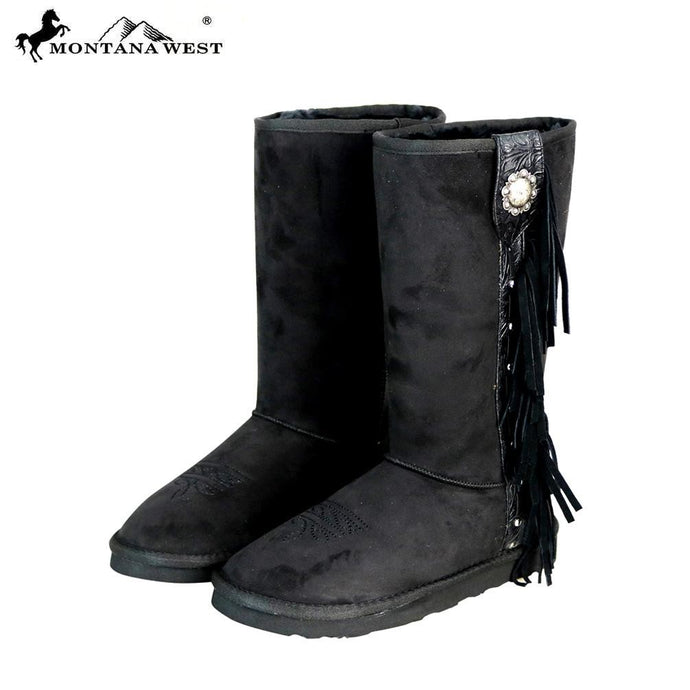 BST-107 Montana West Boots Fringe Collection