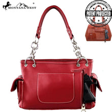 US04G-8085 Montana West American Pride Concealed Handgun Collection Satchel