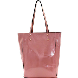 Classy Patent Tall Tote