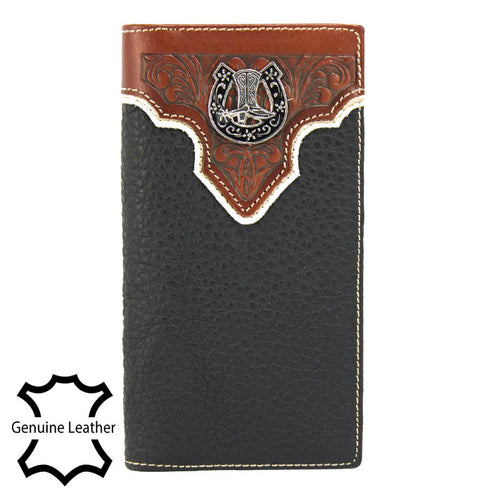 907 Genuine Leather Men's Wallets