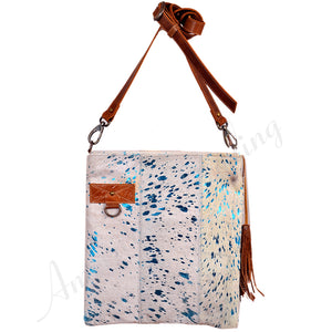 Hair On Hide Leather Crossbody