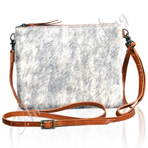 Hair On Leather Cross body Bag - Great Fall