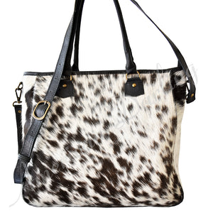 Black With White Hair, Concealed Carry Handbag