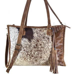 Hair on hide Handbag