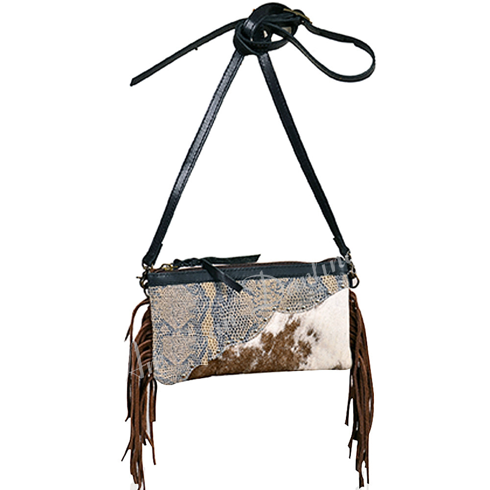 Fringe Small Crossbody