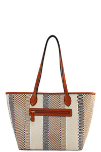DESIGNER MULTI COLOR STRAW TOTE BAG
