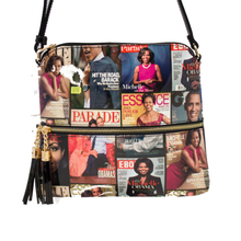 Print Patent Shoulder Design Crossbody Obama