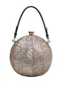 Designer Trendy Ball Shape Satchel With Long Strap