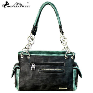 MW648-8085 Montana West Embroidered Collection Satchel