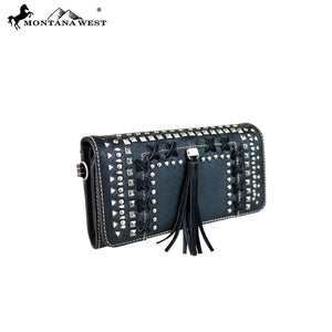 MW650-W018 Montana West Cut-out Collection Wallet/Wristlets