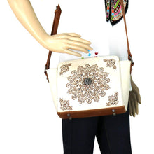 MW663-8360 Montana West Aztec Collection Trapezoid Crossbody