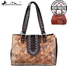 MW699G-8564 Montana West Tooled Collection Concealed Carry Satchel