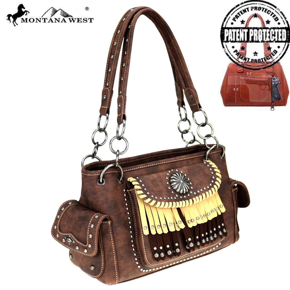 MW708G-8085 Montana West Concho/Fringe Collection Concealed