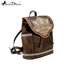MW763-9110 Montana West Aztec Collection Backpack