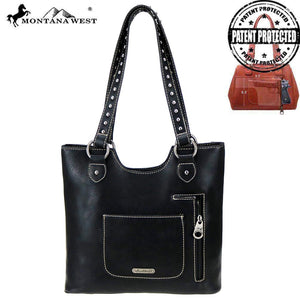 MW767G-8577 Montana West Aztec Collection Concealed Carry Tote