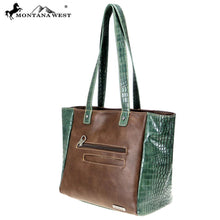 MW794-8317 Montana West Buckle Collection Tote