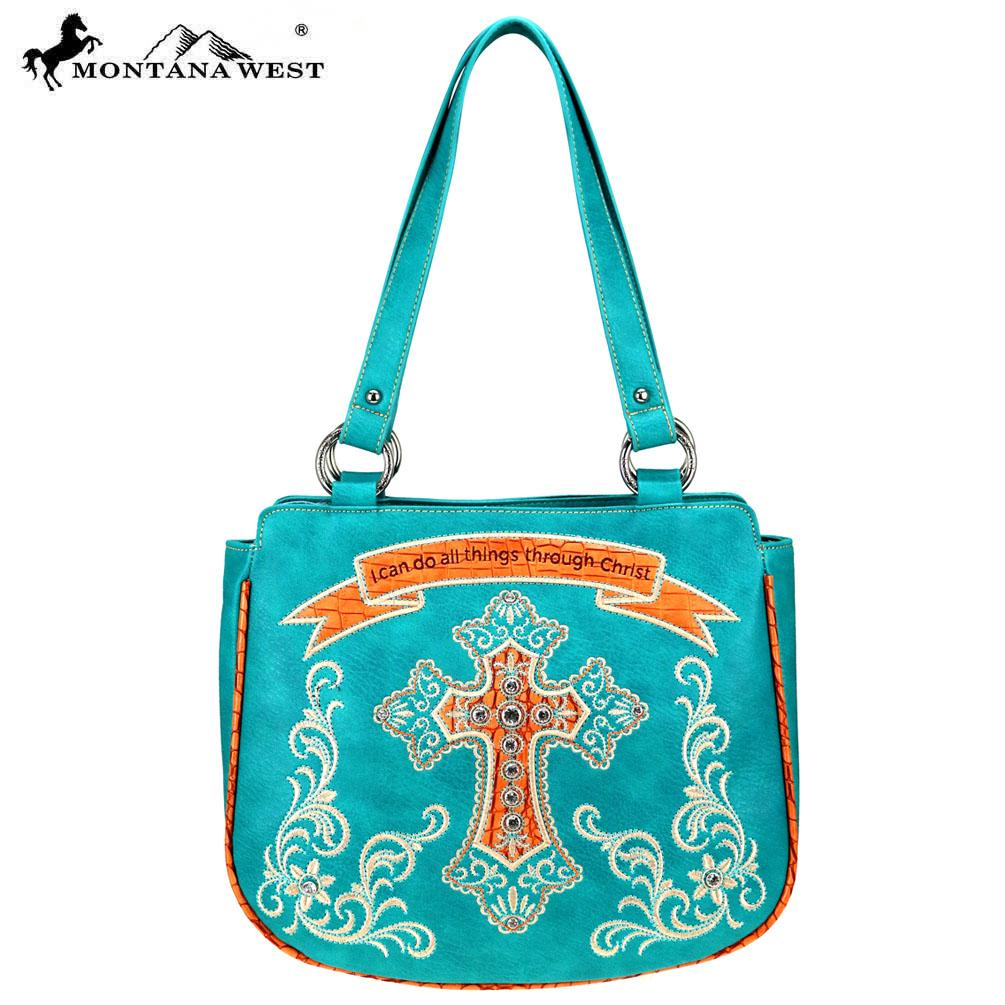 MW798-8576 Montana West Scripture Bible Verse Collection Tote