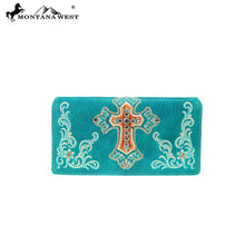MW798-W010 Montana West Scripture Bible Verse Collection Wallet