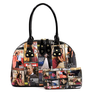 PQ0021W The Obamas Handbag Set
