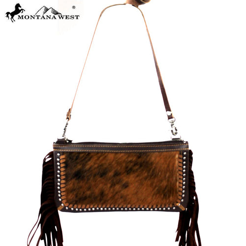 RLC-L002 Montana West 100% Real Leather Clutch