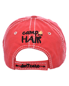 """Camp Hair Don't Care"""