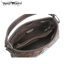 TR14-918 Trinity Ranch Tooled Design Handbag