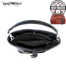 TR31G-116 Trinity Ranch Buckle Design Concealed Handgun Collection Handbag