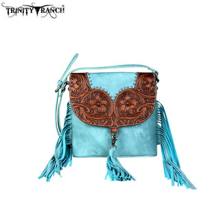TR64-8360 Trinity Ranch Fringe Collection Crossbody