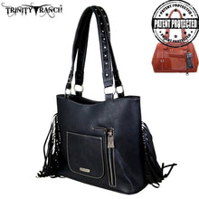 TR64G-8324 Trinity Ranch Fringe Collection Concealed Carry Tote