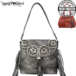 TR64G-916 Trinity Ranch Fringe Collection Concealed Carry Hobo