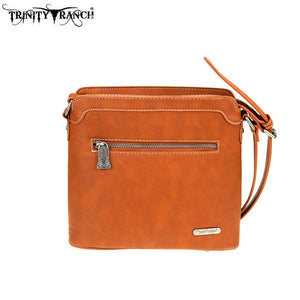 TR74-8360 Trinity Ranch Tooled Leather Collection Crossbody