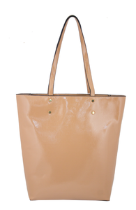 87899 Classy Patent Tall Tote
