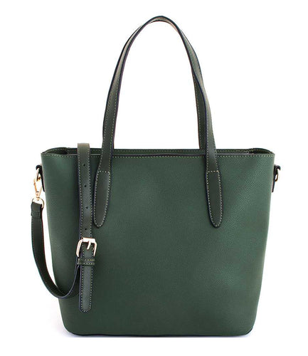 2 IN1 MODERN CHIC TOTE HANDBAG