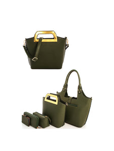 LF-17765 - 5IN1 TRENDY TOTE SET WITH LONG STRAP