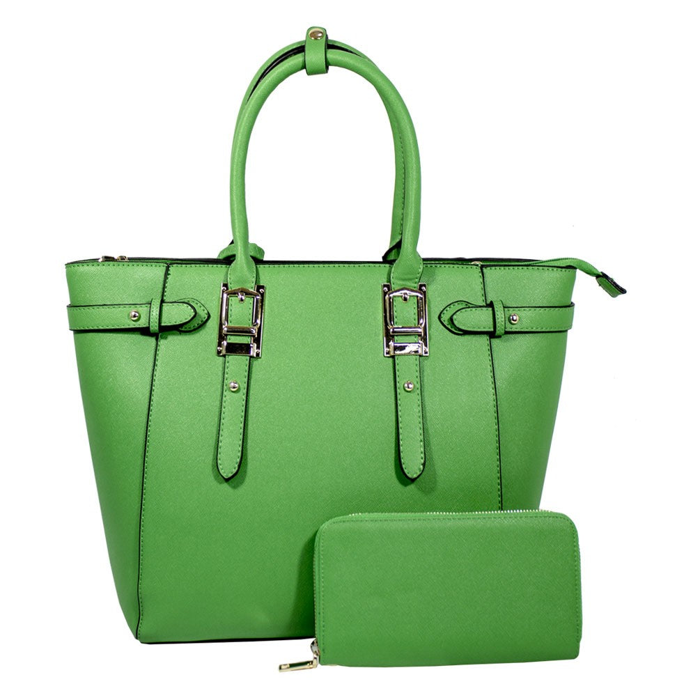 T1825 Fashion Handbag Set Wallt and Bag